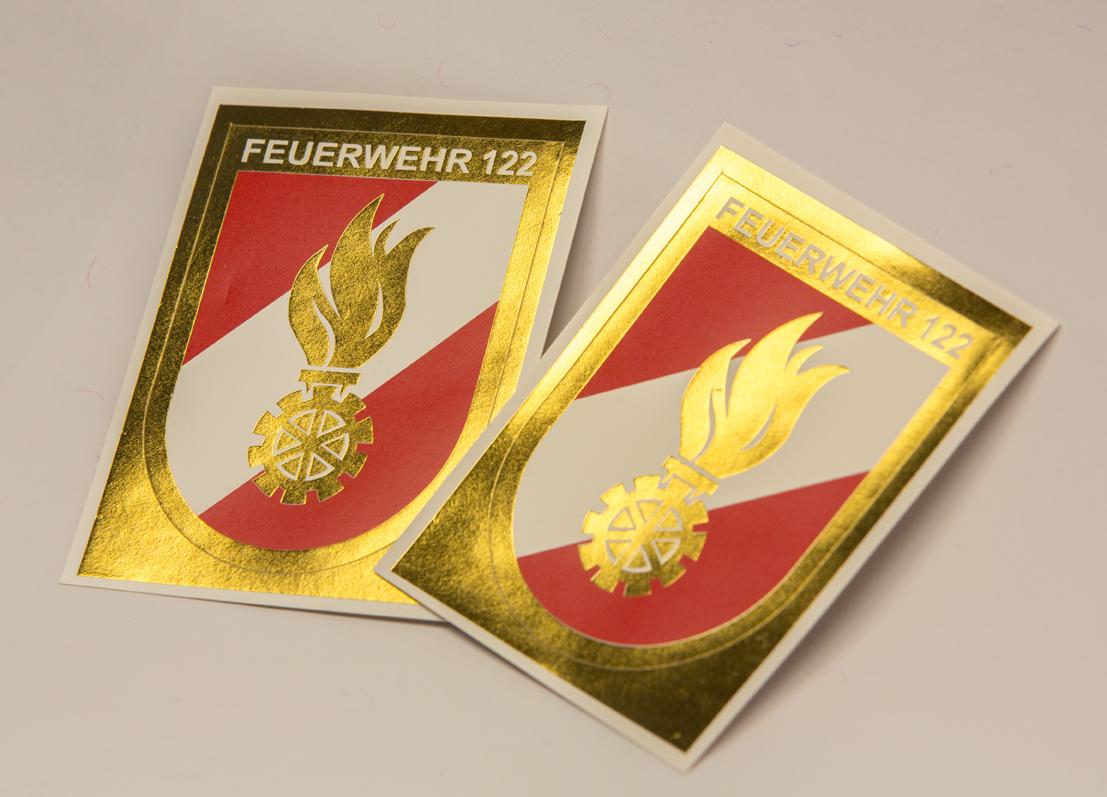 Aufkleber Korpsabzeichen 25 Stk