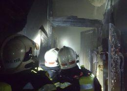 Frau verstirbt bei Wohnungsbrand