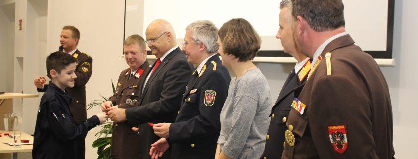 Großes Engagement der Mitglieder der Feuerwehrjugend und des Katastrophenhilfsdienstes Wien