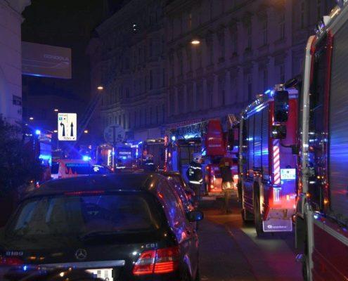 Zwei Tote und elf Verletzte bei Kellerbrand