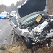 Verkehrsunfall fordert zwei Verletzte