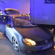 Tödlicher Verkehrsunfall im Tunnel