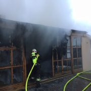Wien Essling – Brand in Mehrparteienhaus