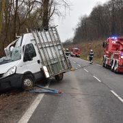 Schwerer Verkehrsunfall in Wien-Kalksburg