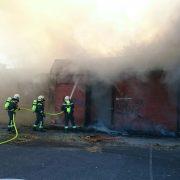 Drei Verletzte nach Brand in ehemaligen Freizeitzentrum in Wien-Oberlaa