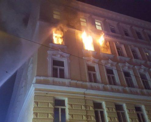 Zimmerbrand mit Todesfolge