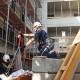 Kranführer auf 40 Meter hohem Baustellenkran verstorben