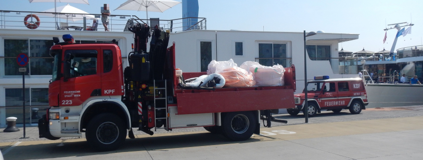 Treibstoffaustritt in die Donau verhindert
