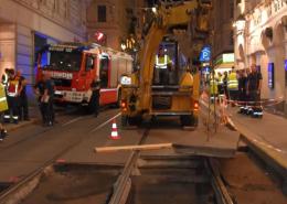 Abbruch einer Vorstellung im Theater in der Josefstadt nach Wasserrohrbruch