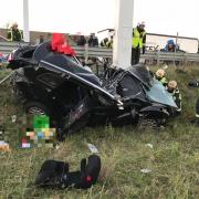 Tödlicher Verkehrsunfall auf S2