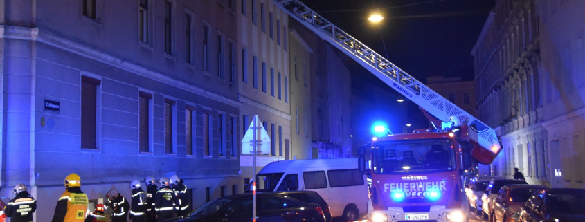Vier Verletzte bei Kellerbrand in Wien-Hernals
