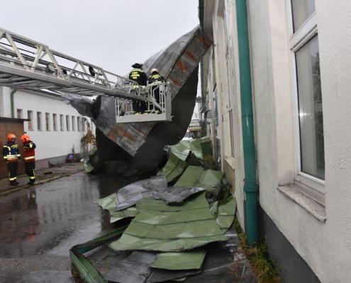 Zahlreiche Feuerwehreinsätze durch Sturmereignis