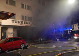 Tiefgaragenbrand in Wien - Mariahilf
