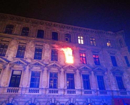 Wien 15 – Brand in einem Gründerzeithaus