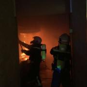 Alarmstufe 2 – Umfassender Löschangriff zur Brandbekämpfung