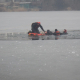 Frau und Hund im Eis eingebrochen - beide gerettet