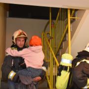 Wohnungsvollbrand nach Verpuffung