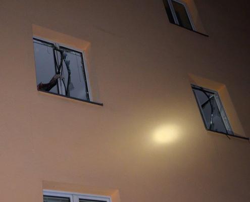 Alarmstufe 2: Gasexplosion – Bewohner unverletzt