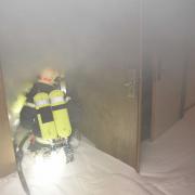 Brand in Hotel fordert fünf Verletzte