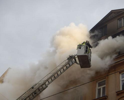 4 Verletzte bei Zimmerbrand in Wien-Favoriten