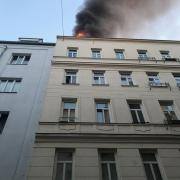 Wohnungsvollbrand in Wien-Josefstadt